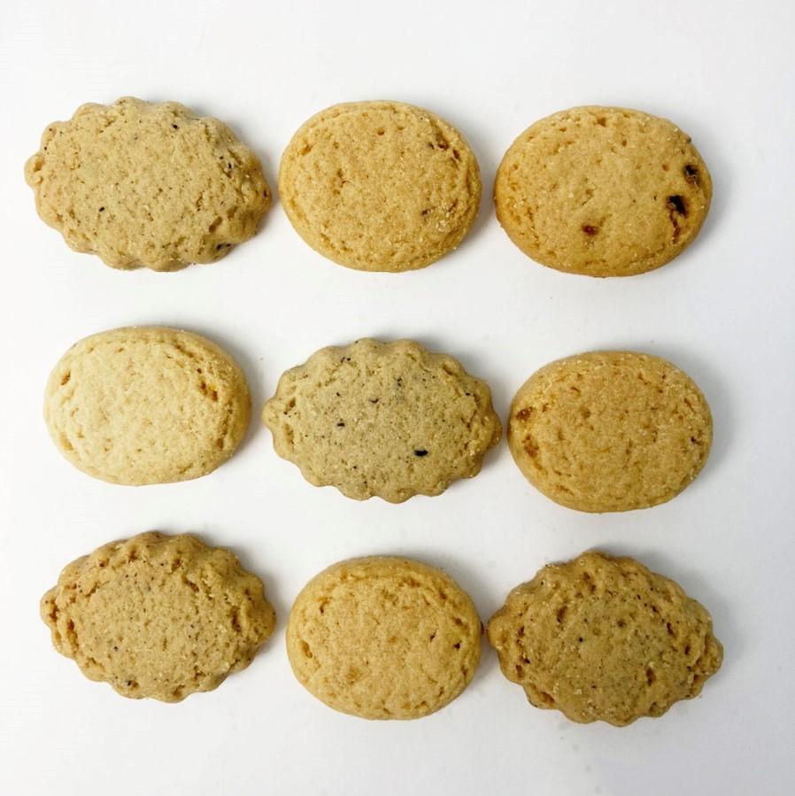 旅菓子東京20番洗足 島レモンとアールグレイのクッキー